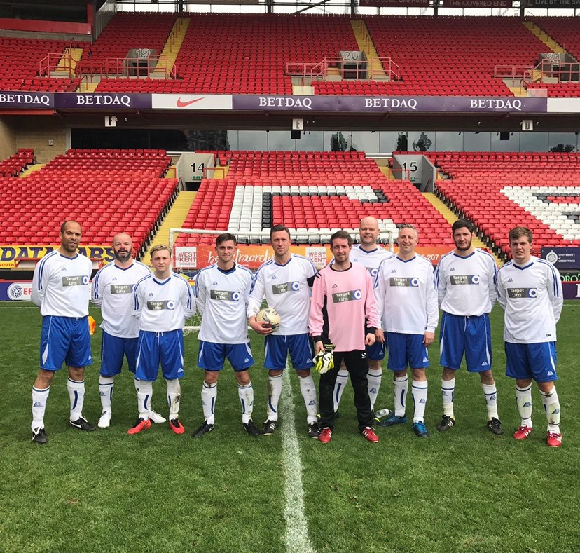 team social playing football